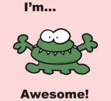 Gurgle...I'm Awesome! One Piece - Long Sleeve