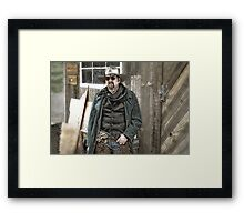 Army Scout Framed Print