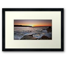 Hidden Sun Framed Print