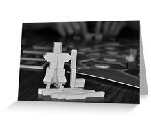 Hockey Catan Sculpture Greeting Card