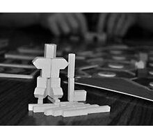 Hockey Catan Sculpture Photographic Print