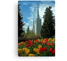 A Temple To Our God Canvas Print