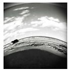 Sphere- Black and white by Carly Haddad