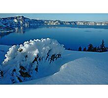Crater Lake Winter Landscape 3 Photographic Print