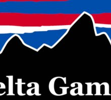 Delta Gamma Red White and Blue Sticker