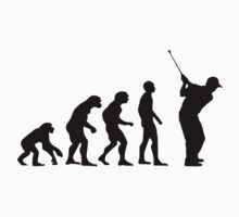Golf Evolution by David Geoffrey Gosling (Dave Gosling)