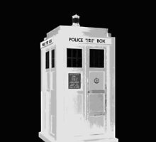 TARDIS: Police Box: Time And Relative Dimension In Space by redcow