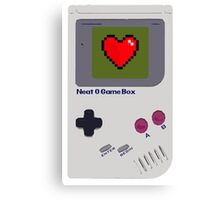 Neat-O Game Box. Canvas Print