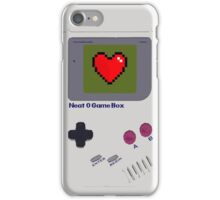 Neat-O Game Box. iPhone Case/Skin