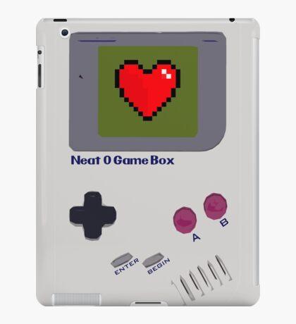Neat-O Game Box. iPad Case/Skin