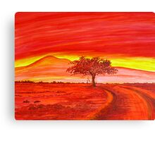 The Good Red Earth Canvas Print