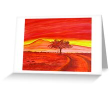 The Good Red Earth Greeting Card