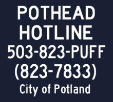 Pothead Hotline No. 3 by yeahnoyeah
