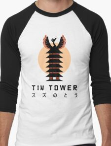 Tin Tower Men's Baseball ¾ T-Shirt