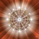 Sacred Geometry 49 by Endre
