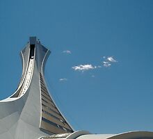Montreal Olympic stadium  by Aimelle