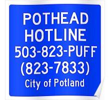 Pothead Hotline No. 6 Poster