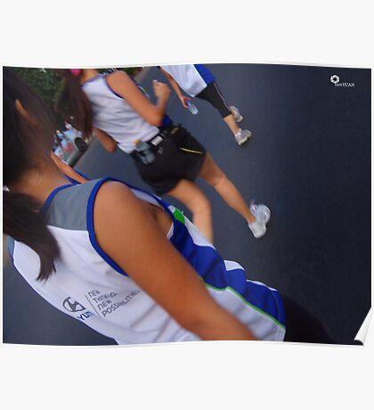 Hyundai Accent Run Poster
