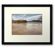 Douglas Quay Alderney - Another view Framed Print
