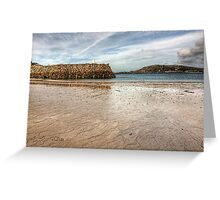 Douglas Quay Alderney - Another view Greeting Card