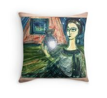 Ceramic tile framed Throw Pillow