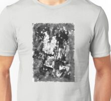 Gray Abstract Composition Unisex T-Shirt