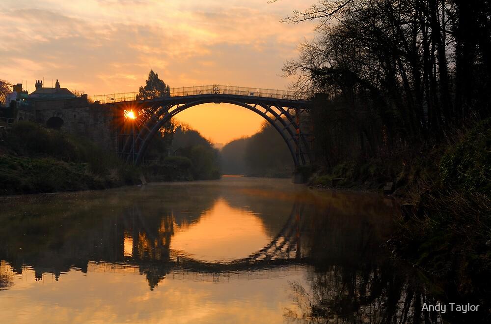 'Sunrise' Ironbridge by Andy Taylor
