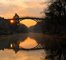 'Sunrise' Ironbridge by Andy Taylor