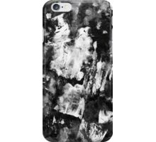 Gray Abstract Composition iPhone Case/Skin