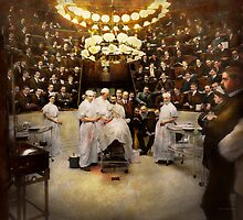 Doctor - Surgeon - Standing room only 1902 by Mike  Savad
