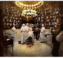 Doctor - Surgeon - Standing room only 1902 Photographic Print