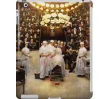 Doctor - Surgeon - Standing room only 1902 iPad Case/Skin