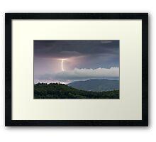 Distant Thunder Framed Print