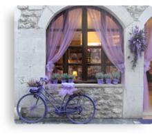 Celebrating the lavender harvest Metal Print