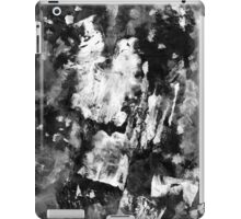 Gray Abstract Composition iPad Case/Skin