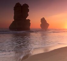 Gibson Steps, Port Campbell National Park, Victoria, Australia by Shelley Warbrooke