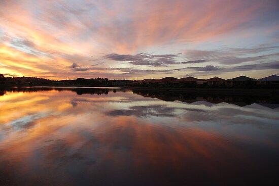 Livin' with Flair on Lake Kimberley by Graham Mewburn