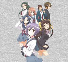 Haruhi Suzumiya - Yuki Nagato - The Disappearance of Nagato Yuki-chan - Cover Poster (CLEANED RENDER) (Text Removed) Unisex T-Shirt