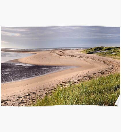 Budle Bay - Northumberland Poster