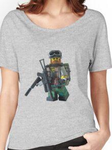Modern Military Rabbit Women's Relaxed Fit T-Shirt