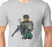 Modern Military Rabbit Unisex T-Shirt