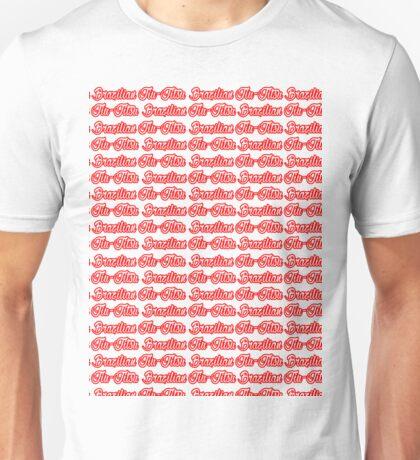 Brazilian Jiu Jitsu Red  Unisex T-Shirt