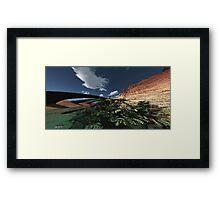 Archer canyon. Framed Print
