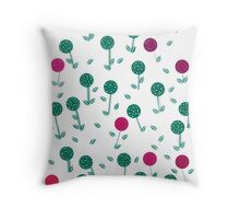 Candy woodland Throw Pillow