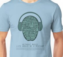 I love music - part 4 Unisex T-Shirt