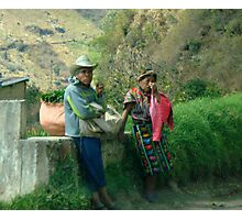 la vida de Guatemala 3 Photographic Print