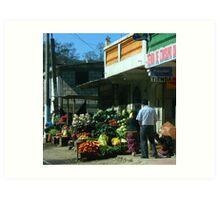 La Vida de Guatemala 6 Art Print