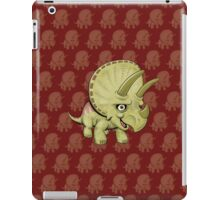 Cute Triceratops iPad Case/Skin