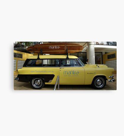 MANTRA RESORT PROMO CAR Canvas Print