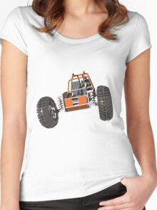 Dune buggy Women's Fitted Scoop T-Shirt